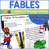 Speech Therapy Fables The Tortoise and The Hare