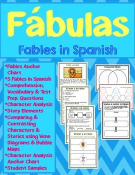 FABLES in Spanish / FABULAS en español