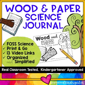 Wood & Paper ... a science journal w/ links to video clips ... compliments FOSS