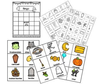Fabrique ton Bingo d'Halloween