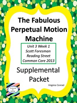 Fabulous Perpetual Motion Machine--Supplemental Packet--Re