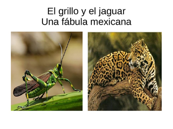 Fábula mexicana (EL grillo y el jaguar) Mini Bundle