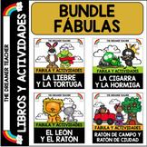 Fábulas: libritos y actividades. BUNDLE