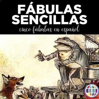 Fábulas sencillas - Five fables written in simple Spanish