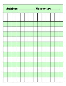 Fabulous, Easy-to-Use Gradebook!