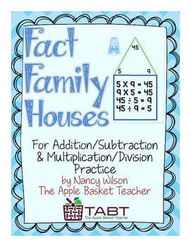 Fact Family Houses~Practicing With Fact Families