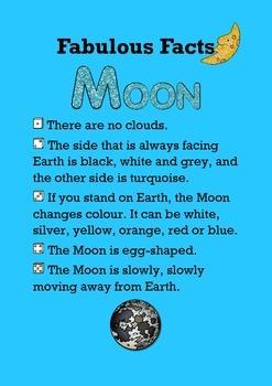 Fabulous Facts / Moon