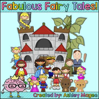 Fabulous Fairy Tales Unit (ideas for 10 Fairy Tales!)