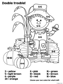 Fall Unit ELA and Math Activities