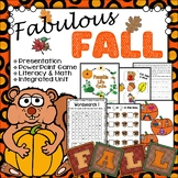 Fall Unit ELA and Math Activities