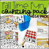 Fall Time Fun Counting MEGA Pack