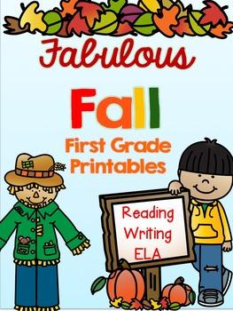Fabulous Fall First Grade Printables
