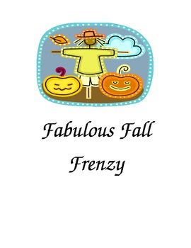 Fabulous Fall Frenzy, I Have, Who Has
