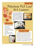 Fabulous Fall Leaf Painting