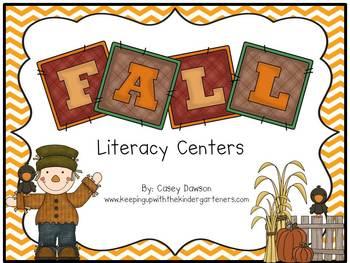 Fabulous Fall Literacy Centers