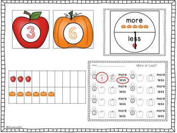 Fabulous Fall Literacy and Math Centers (BUNDLED)