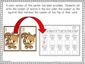 Fabulous Fall Math Centers