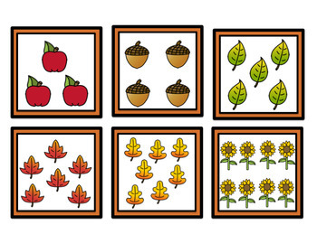 Fabulous Fall Math Centers for Kindergarten