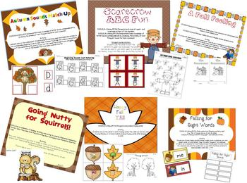 Fabulous Fall {Math and Literacy Activities aligned with the Common Core}