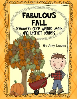 Fabulous Fall Math and Literacy Centers Plus More! {Common