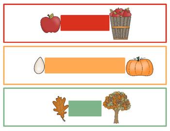 Fabulous Fall Measuring Fun! {non-standard & standard measurement}