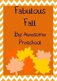 Fall Weather Unit - Preschool