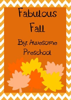 Fall Weather Unit - Preschool