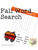 Fabulous Fall Word Search