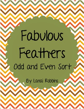 Fabulous Feathers Odd and Even Sort