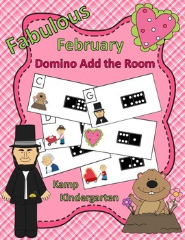 Fabulous February Domino Add the Room (Sums of 0 to 10)