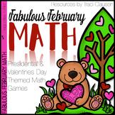 Math Games - Fabulous February Math Activities