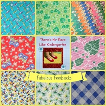 Fabulous Feedsack 1 Digital Paper