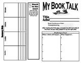 Fabulous Fiction Book Talk with Comic Strip Summary (2-4)