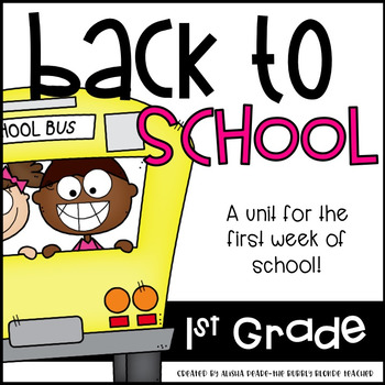 Fabulous First Grade Fun--Fun for the first week of school
