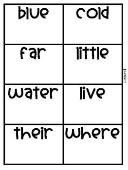 Popcorn Words!  220 First Grade Sight Word Flashcards