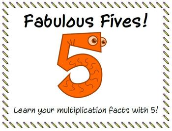 Fabulous Fives! Multiplication Facts with 5.