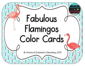 Fabulous Flamingos Color Cards