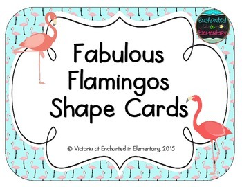 Fabulous Flamingos Shape Cards