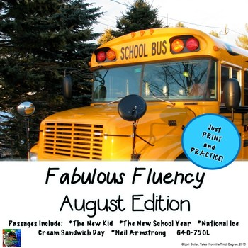 Fabulous Fluency August Edition