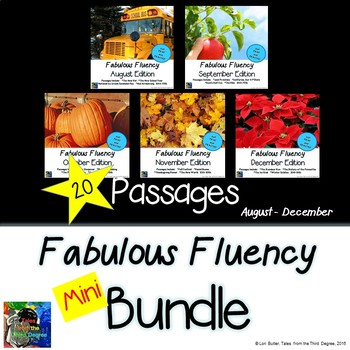 Fabulous Fluency Mini Bundle August - December