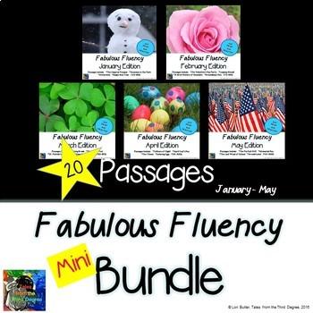 Fabulous Fluency Mini Bundle January - May
