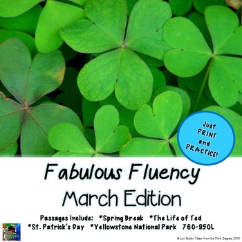 Fabulous Fluency March Edition