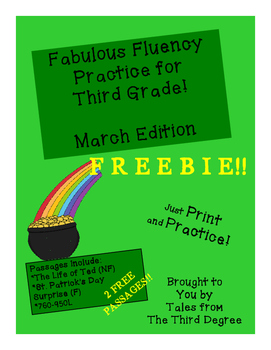Fabulous Fluency March Edition FREEBIE