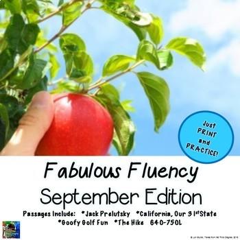 Fabulous Fluency September Edition