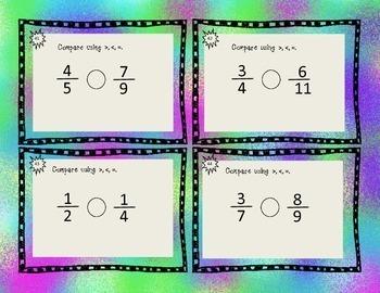 Fabulous Fraction Task Cards
