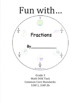 Fabulous Fractions! DIFFERENTIATED ACTIVITY!
