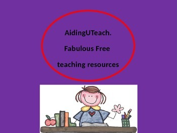 Fabulous Free Teaching resources from around the web.