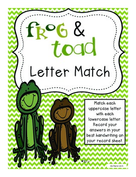 Fabulous Frog Literacy and Math Centers