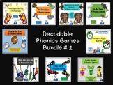 Decodable Phonics Games
