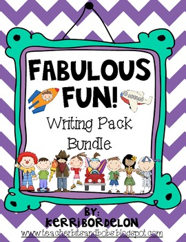 Fabulous Fun! Writing Centers Bundle